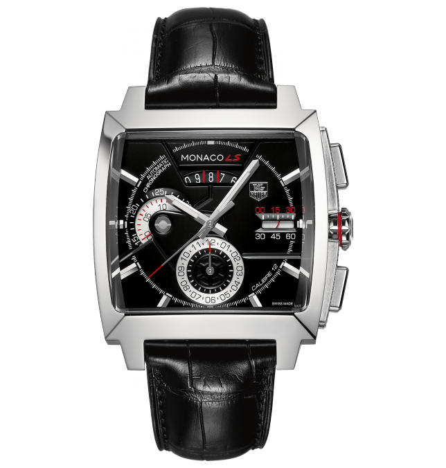 TAG HEUER MONACO 12 LS AUTOMATIC CHRONOGRAPH WATCH