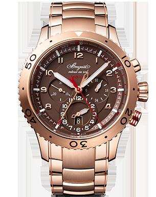 Breguet -  Type XXII GMT Flyback Chronograph 3880 WATCH