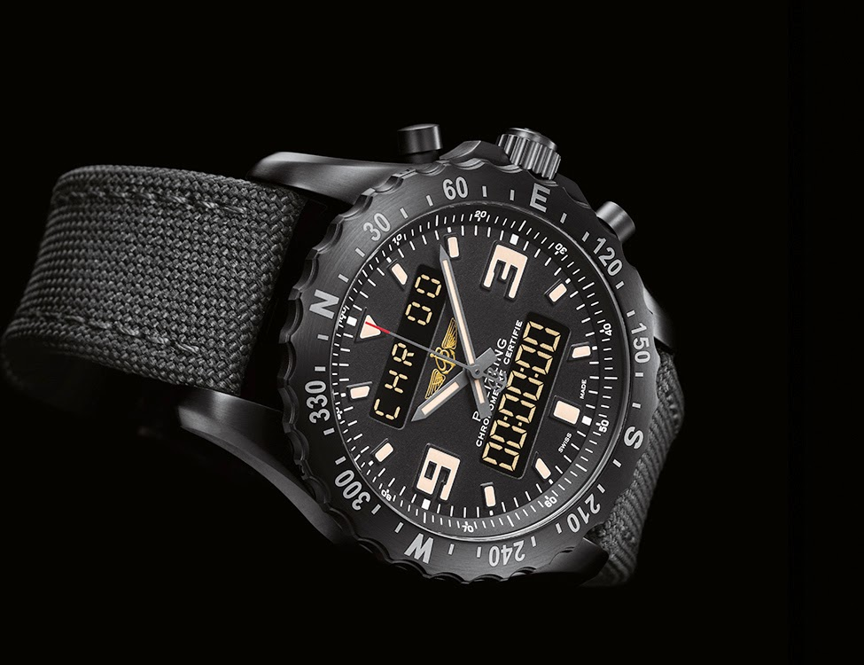 BREITLING CHRONOSPACE MILITARY WATCH www.breitling.com