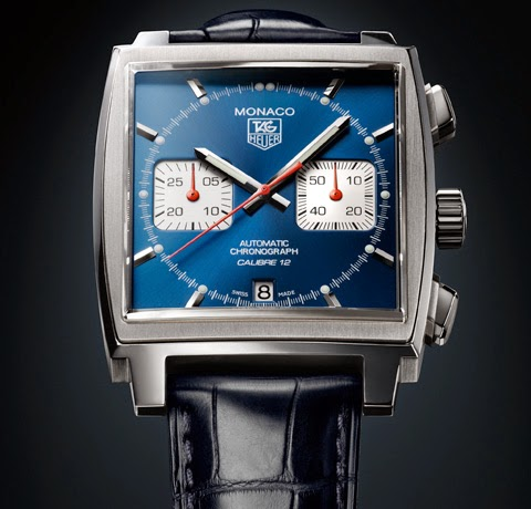 TAG HEUER MONACO CALIBRE 12 WATCH