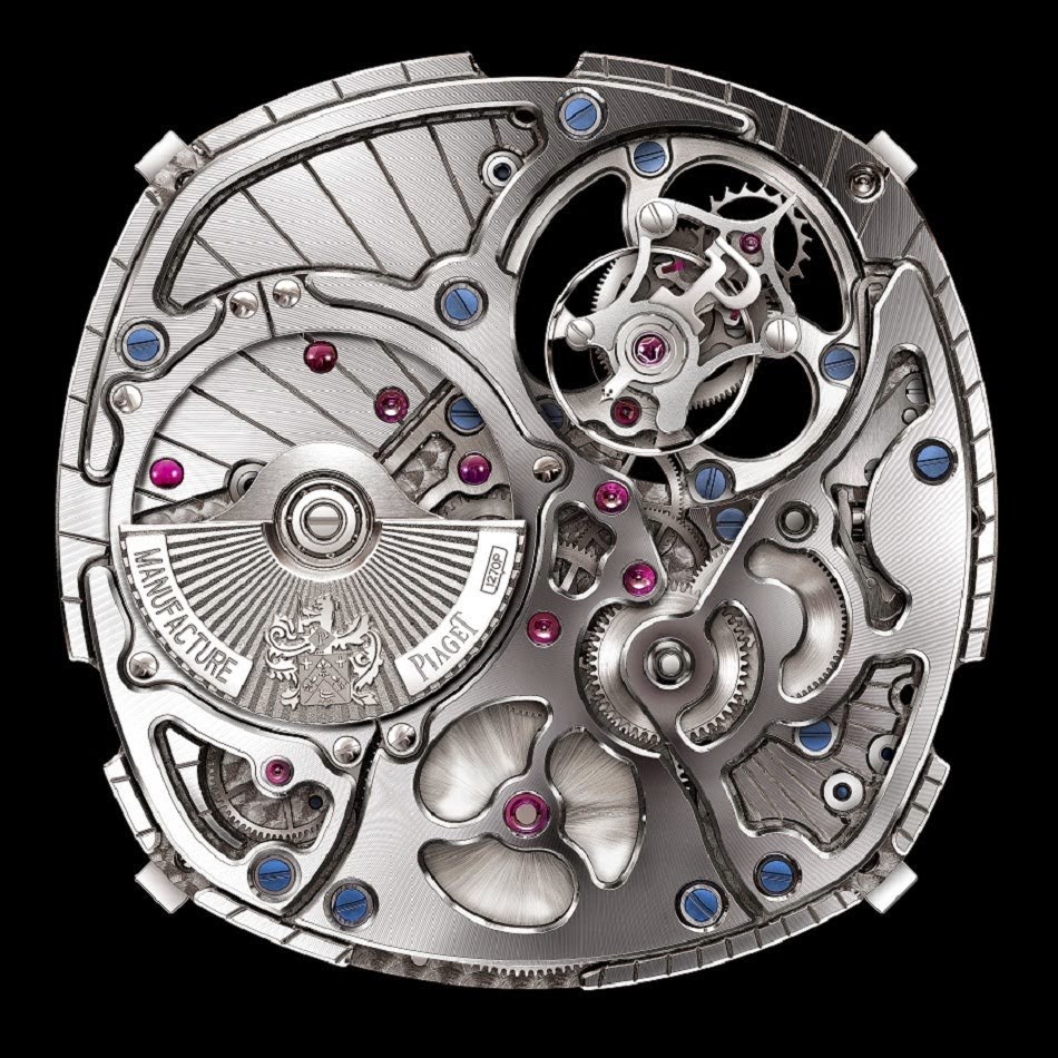 Piaget - Emperador cushion-shaped 1270P caliber  movement