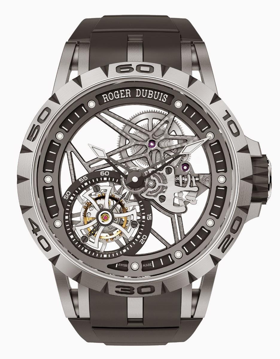 Roger Dubuis - Excalibur Spider Tourbillon Volant Squelette watch