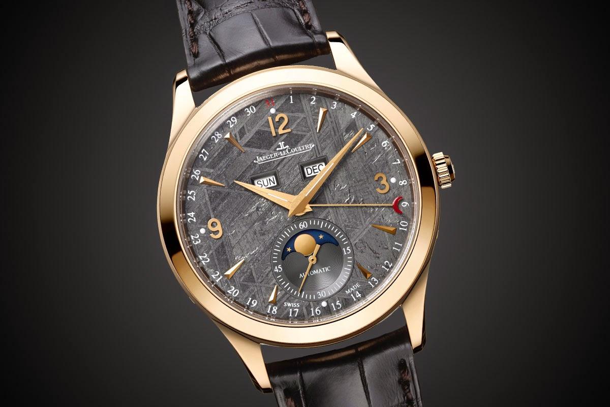 Jaeger-LeCoultre - Master Calendar Meteorite Dial watch