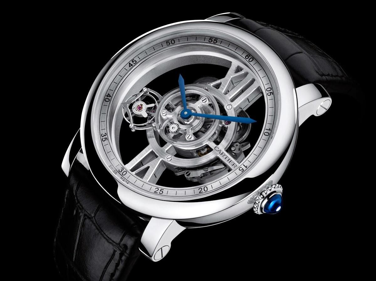 Cartier - Rotonde de Cartier Astrotourbillon Skeleton Watch