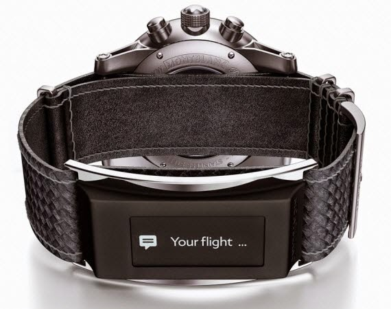 Montblanc - TimeWalker Urban Speed Chronograph e-strap