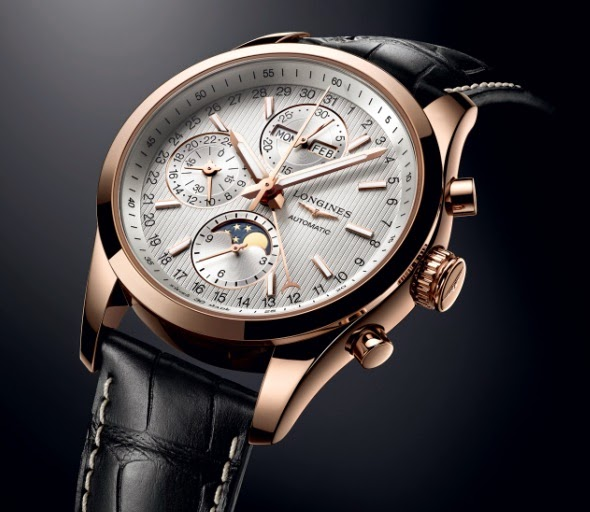Longines - Conquest Classic Moonphase 18K rose gold