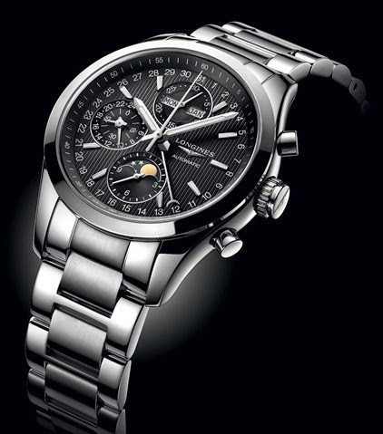 Longines - Conquest Classic Moonphase stainless steel