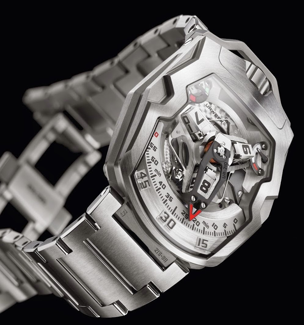 "URWERK - UR-210S ""Full Metal Jacket"""
