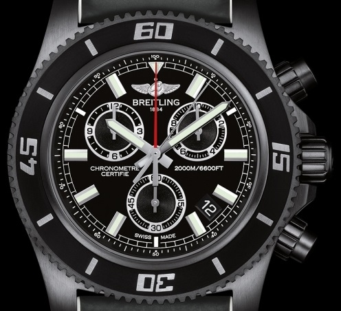 Breitling - Superocean Chronograph M2000 Blacksteel