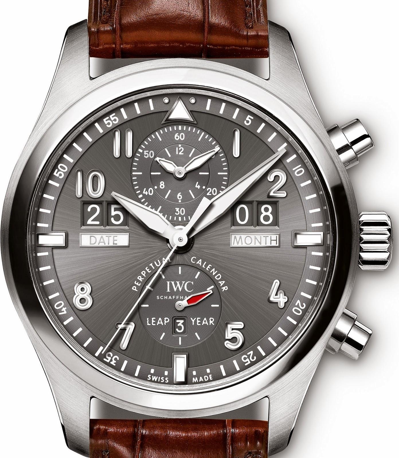 IWC - Spitfire Perpetual Calendar Digital Date-Month