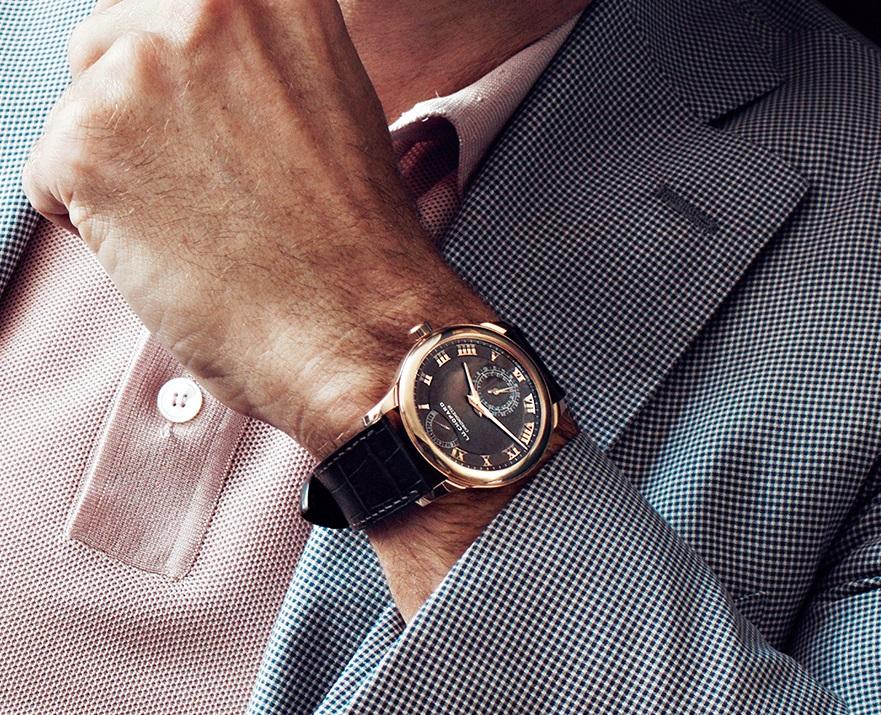 Chopard - L.U.C Quattro on the wrist