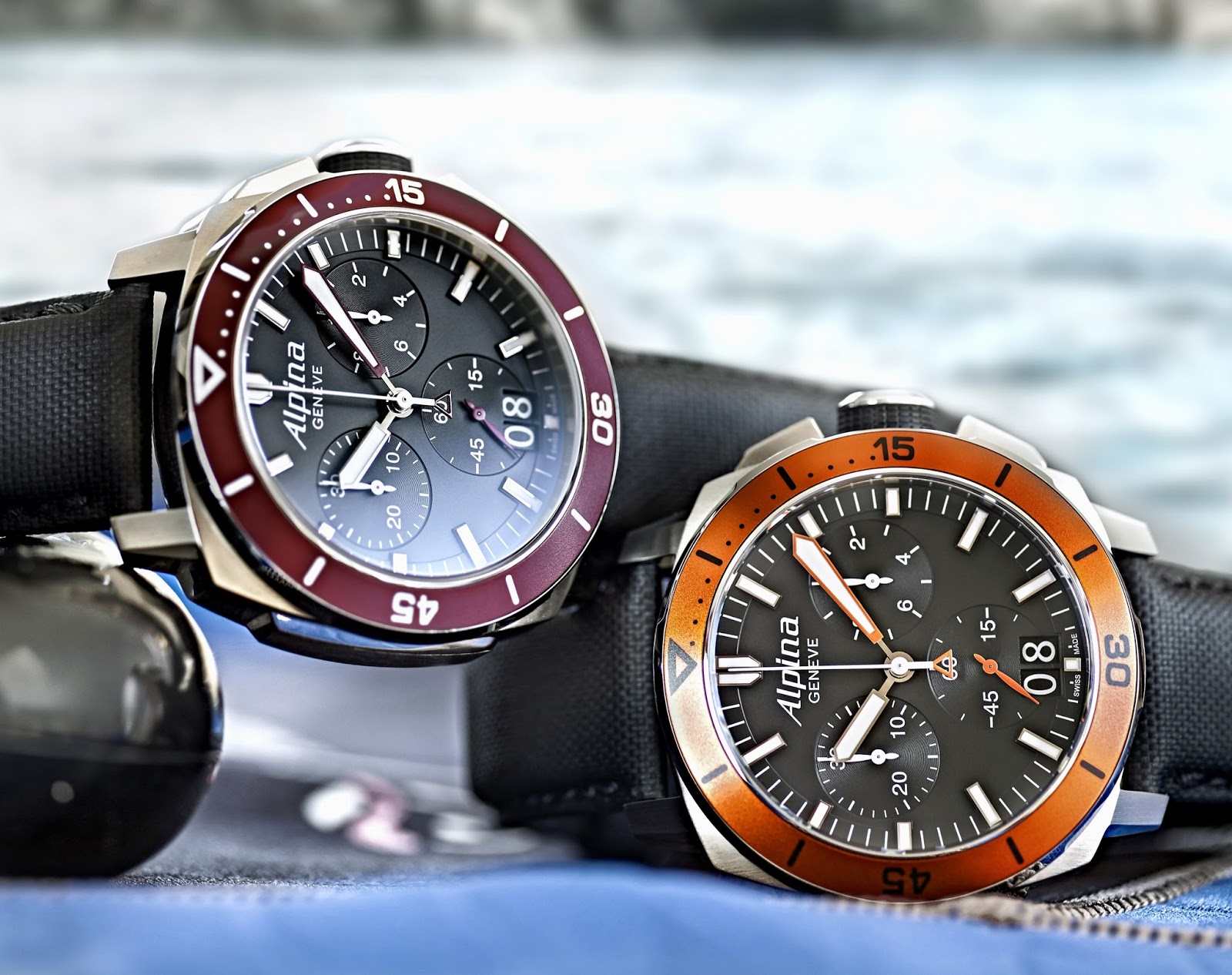 Alpina - Seastrong Diver 300 Big Date