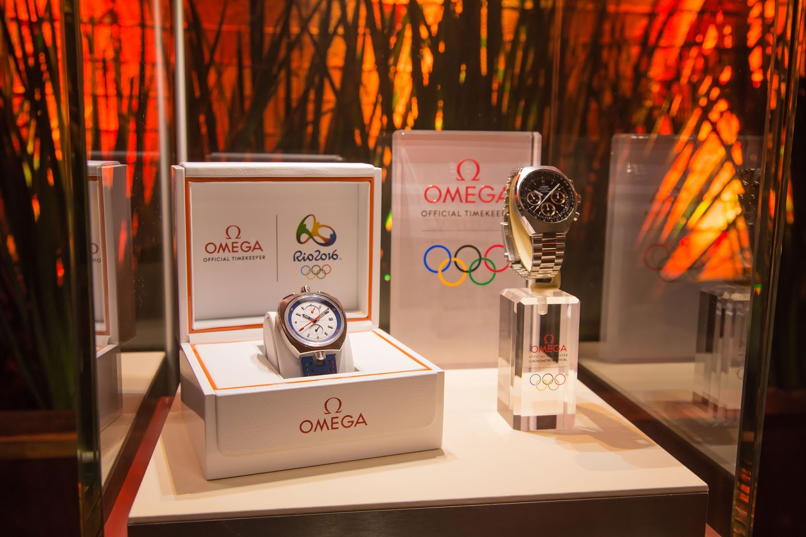 """New Omega watches from the """"RIO 2016"""" collection"""