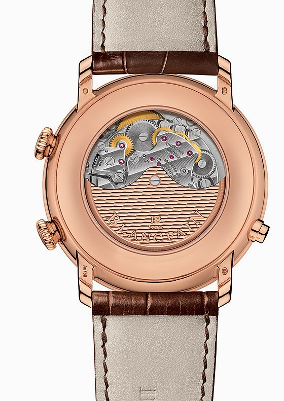 Zegarek Blancpain Villeret Réveil GMT