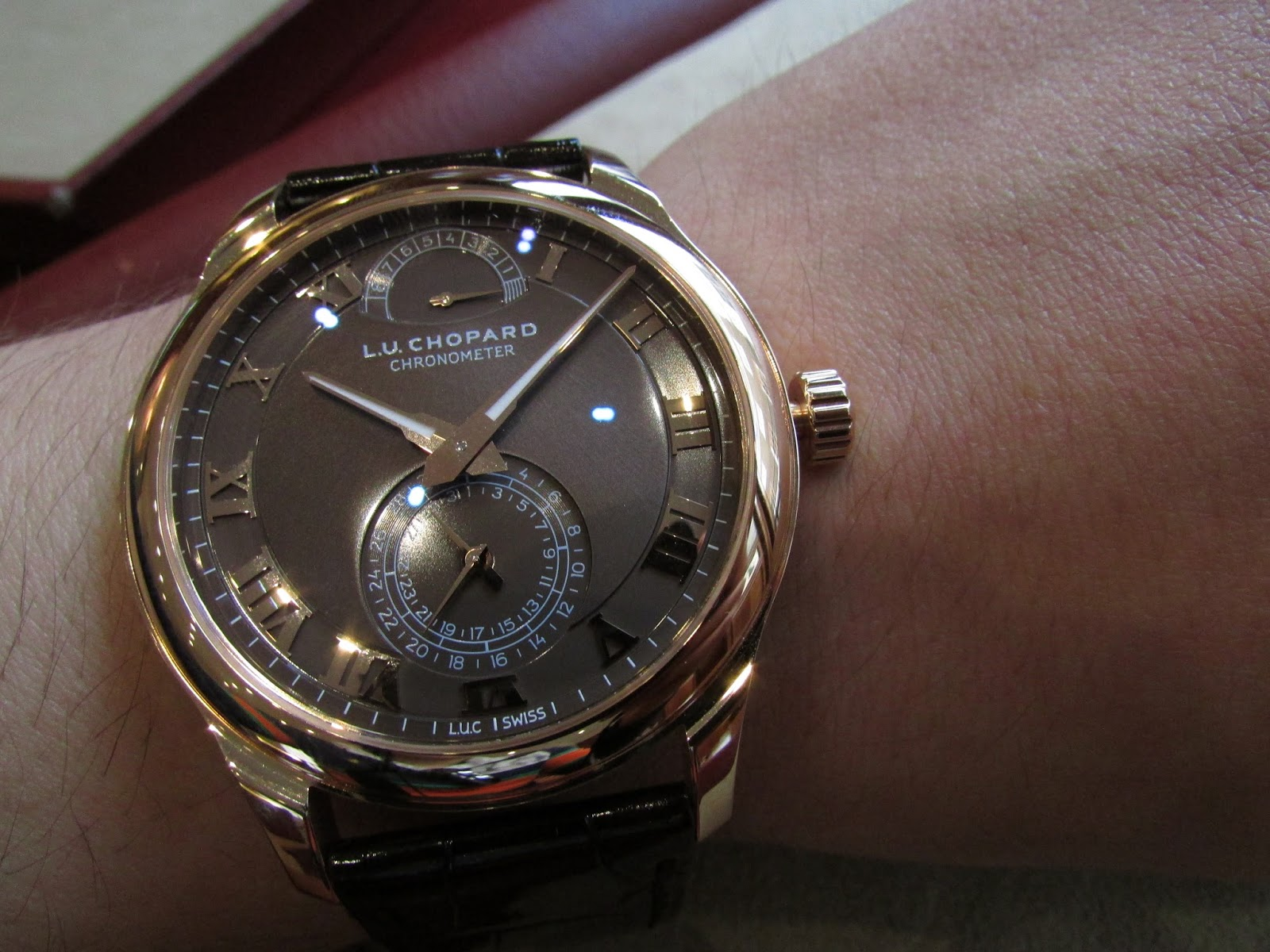 Chopard L.U.C Quattro Rose gold