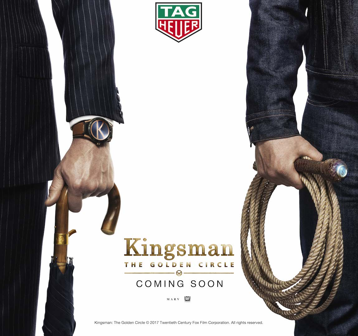 TAG Heuer, Marv Films and Twentieth Century Fox Launch a Global Partnership with Kingsman: The Golden Circle