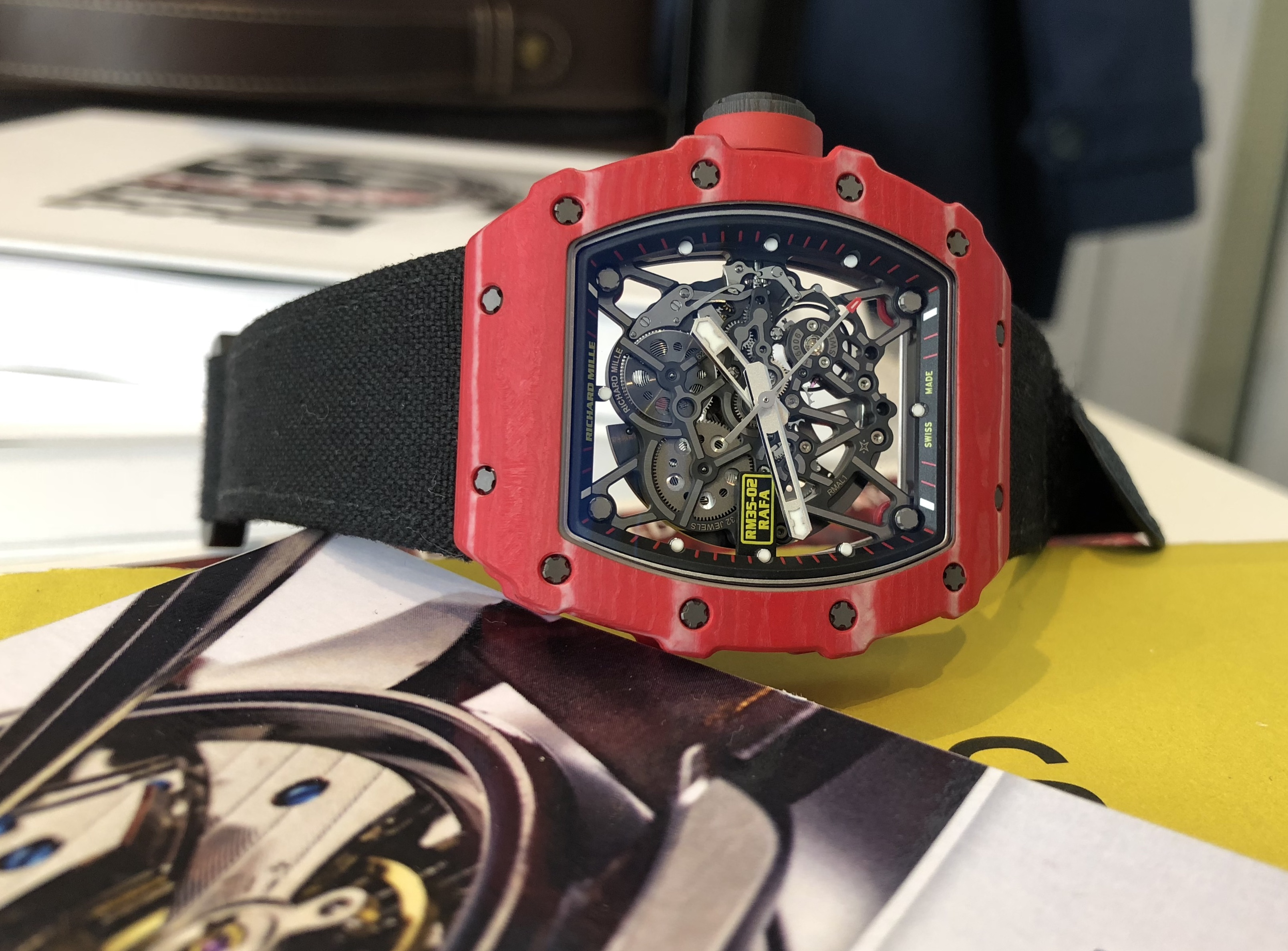 Richard Mille – RM35-02 Rafael Nadal in Red Quartz