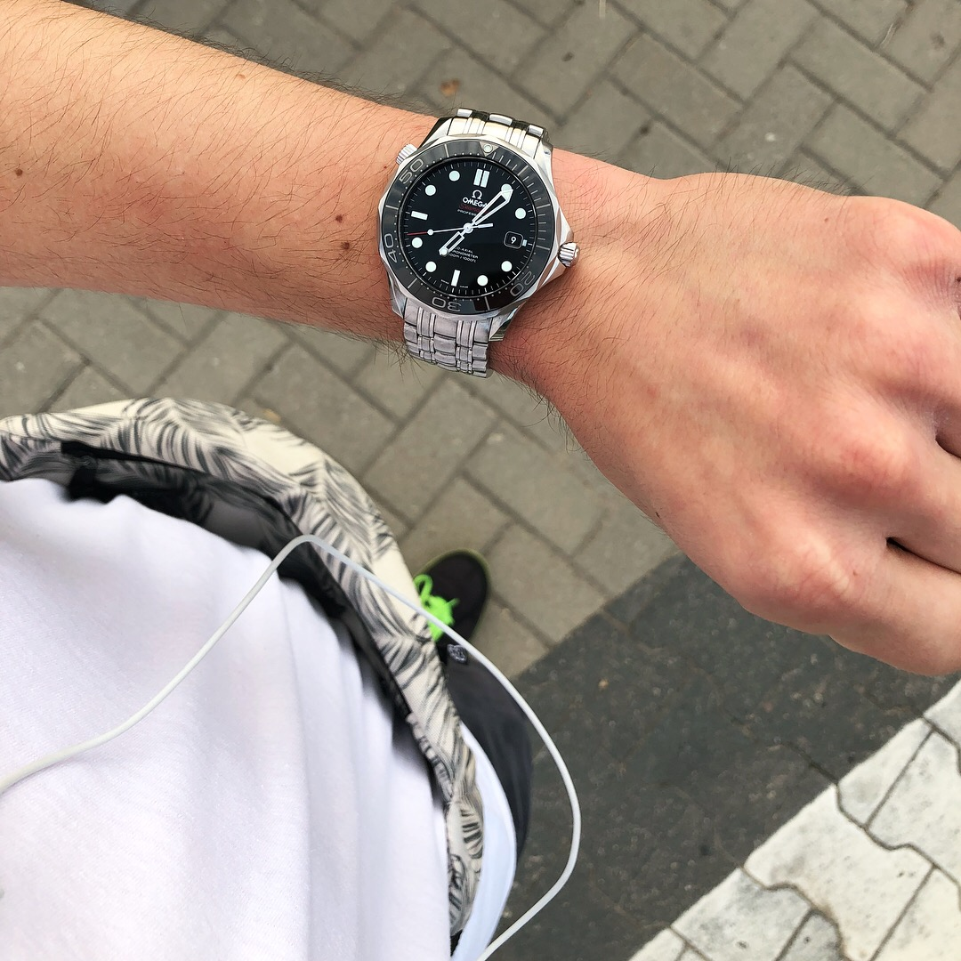 Morning Jog with the Omega Seamaster 300M 41mm