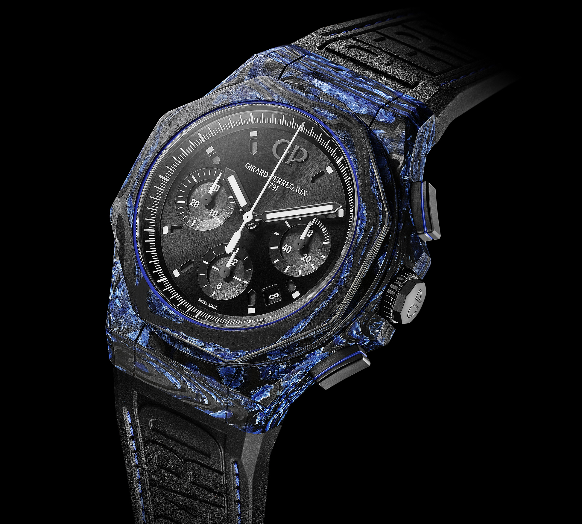 Girard Perregaux – Laureato Absolute Carbon Glass