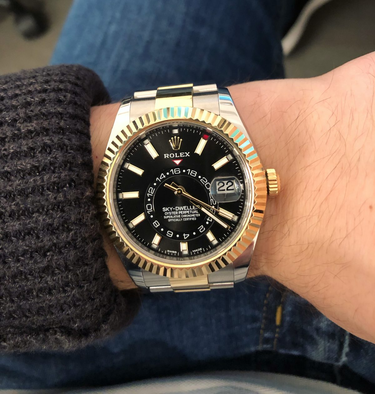 Rolex Sky,Dweller 326933 \u2013 From Hate to Love?